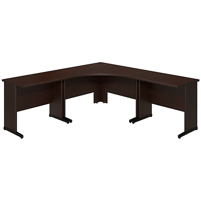 Bush Business Westfield Elite 48W x 48D C Leg Corner Desk with (2) 36W x 24D Desks, Mocha Cherry