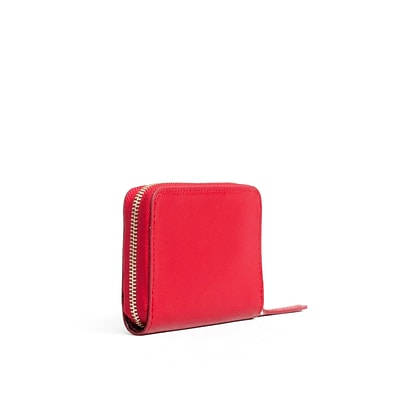 Paperthinks Scarlet Red Leather Coin Wallet