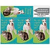 Humorous 3-Up Laser Postcards with Bookmark, Go to the Vet