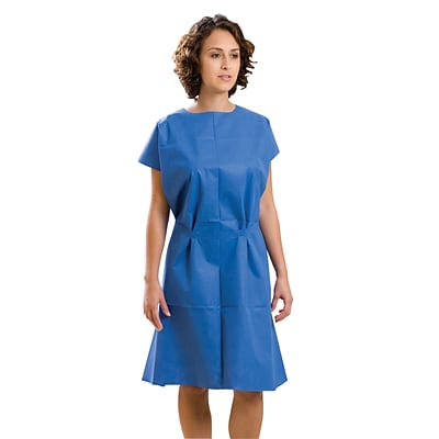Graham® FabriWear™ Disposable Exam Gown | Quill.com