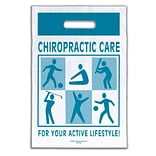 Medical Arts Press® Chiropractic Non-Personalized 1-Color Supply Bags, 9x13, Active Lifestyle