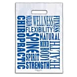 Medical Arts Press® Chiropractic Non-Personalized 1-Color Supply Bags, 9x13, Word Design