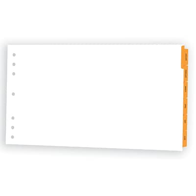Appointment Book Dividers, 20x11