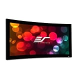 Elite Screens Lunette Series Matte White Fixed Frame Projection Screen; 84 Diagonal