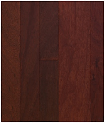 Easoon Usa 5'' Engineered Padouk Hardwood Flooring In Natural