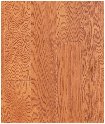 Easoon Usa 5'' Engineered Oak Hardwood Flooring In Cinnamon