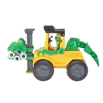 Educational Insights Dino Construction Company Snap The Velociraptor Forklift 4159