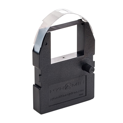 Pyramid® 4000R Time Clock Ribbon for 3000 & 4000 Series Time Recorders, Black