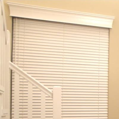 West Coast Blinds Estate Wood Curtain Cornice; 7.5'' H X 38.5'' W X 4.5'' D