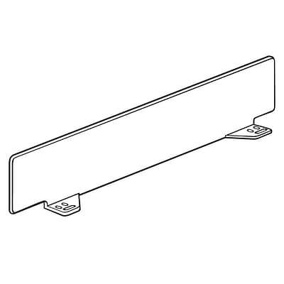 FFR Merch Front Fence & Rectangular Divider, 3Hx18-1/2L, 19D Shelf, Dividers, 14Pk (4130611508)