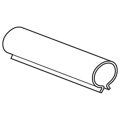 FFR Merchandising Inventory Control Tube, 2 L, 400/Pack (7907115401)