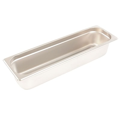 FFR Merchandising Stainless Steel Pans and Accessories; 4 D, Half Long Pan, 6.0 qt, 2/Pack (9922519754)