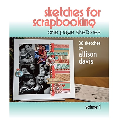 Scrapbook Generation Book One Page Sketches For Scrapbooking Vol 1