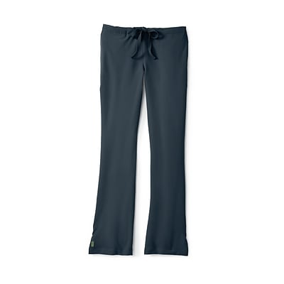 Melrose AVE.™ Combo Elastic Waist Ladies Scrub Pant, Charcoal, SP