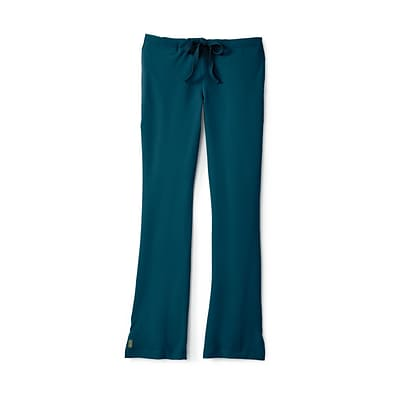 Melrose AVE™ Combo Elastic Waist Ladies Scrub Pant, Caribbean Blue, Medium