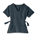 Park AVE.™ Charcoal S Ladies Scrub Top