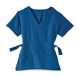 Park AVE.™ Royal Blue L Ladies Scrub Top