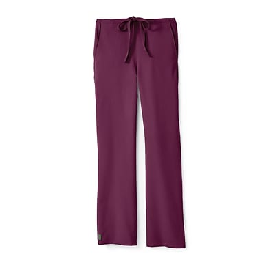 Newport AVE™ Unisex Drawstring Scrub Pant, Wine, Medium