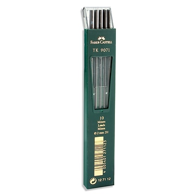 Faber-Castell TK 9400 Clutch Drawing Pencil Leads 2H pack of 10 [Pack of 3]