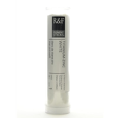 R And F Handmade Paints Pigment Sticks Titanium Zinc White 188 Ml