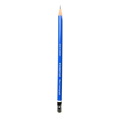 Staedtler Lumograph Pencils 2B [Pack of 12]