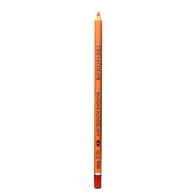 Cretacolor Classic Sketching and Drawing Pencils sanguine oil [Pack of 12]