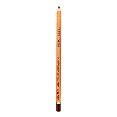 Cretacolor Classic Sketching and Drawing Pencils sepia dark [Pack of 12]