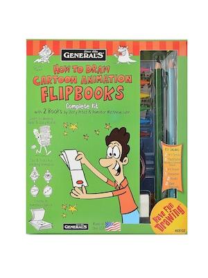General's How To Draw Cartoon Animation Fli