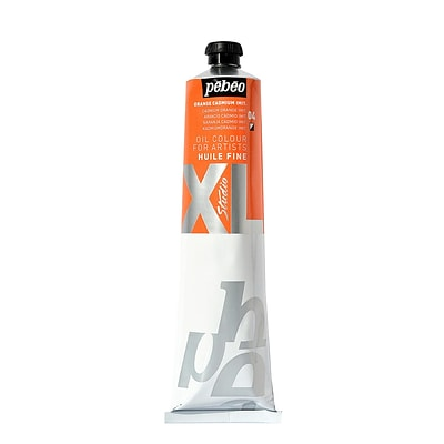 Pebeo Studio Xl Oil Paint Cadmium Orange Hue 200 Ml [Pack Of 2]