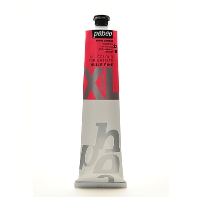 Pebeo Studio Xl Oil Paint Bright Red 200 Ml [Pack Of 2]