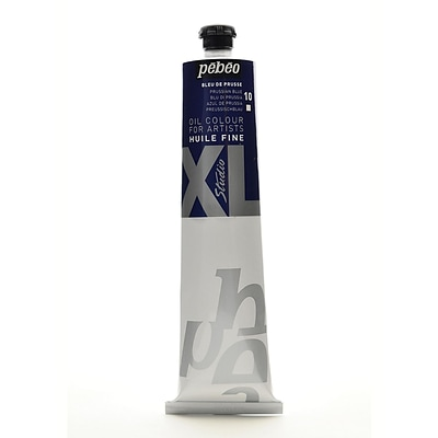 Pebeo Studio Xl Oil Paint Prussian Blue 200 Ml [Pack Of 2]