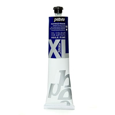 Pebeo Studio Xl Oil Paint Primary Phthalo Blue 200 Ml [Pack Of 2]