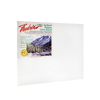Fredrix Pro Series Archival Linen Canvas Boards 16 In. X 20 In.