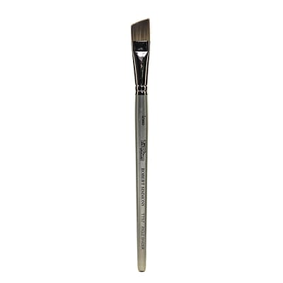 Robert Simmons Titanium Brushes Short Handle Single Stock 5/8 In. Angle Shader Tt57