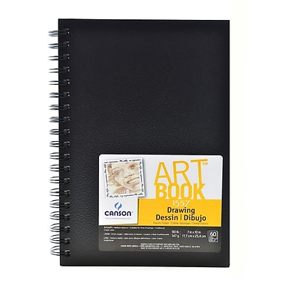 Canson Art Book Field Drawing Books, 7 X 10, 60 Sheets, 2/Pack (60530-Pk2)