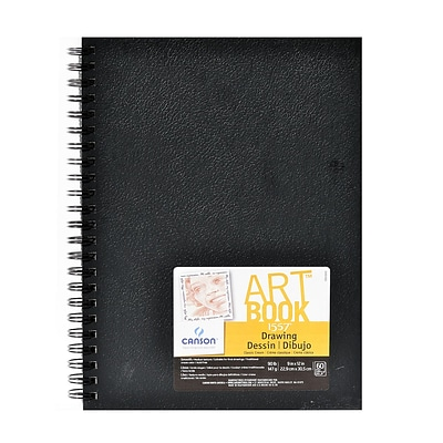 Canson Art Book Field Drawing Books 9 X 12 60 Sheets (60531)