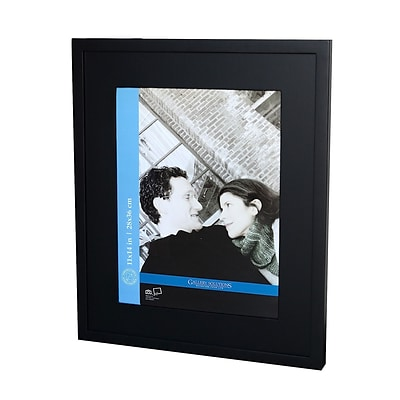 Pinnacle Frames & Accents Gallery Solutions Gallery Frames Black 16 In.X20 In. 11 In.X14 In. Opening