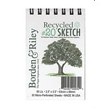Borden & Riley #20 Recycled Artist Sketch P