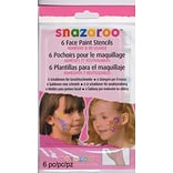 Snazaroo Face Paint Stencils Girls Adventur