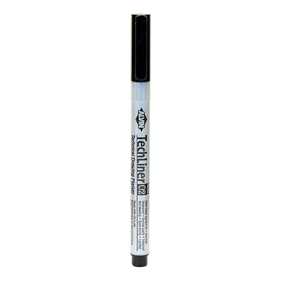 Alvin Tech-Liner Superpoint Drawing Pen/Marker 0.2 mm each [Pack of 10]