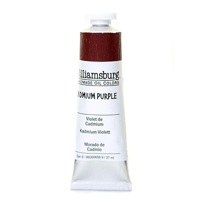 Williamsburg Handmade Oil Colors Cadmium Purple 37 Ml