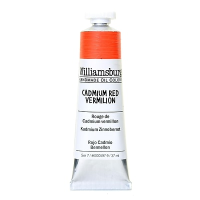 Williamsburg Handmade Oil Colors Cadmium Red Vermillion 37 Ml