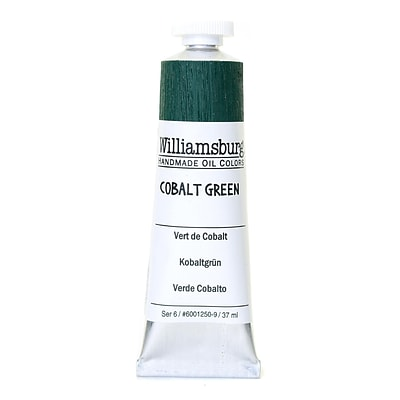 Williamsburg Handmade Oil Colors Cobalt Green 37 Ml