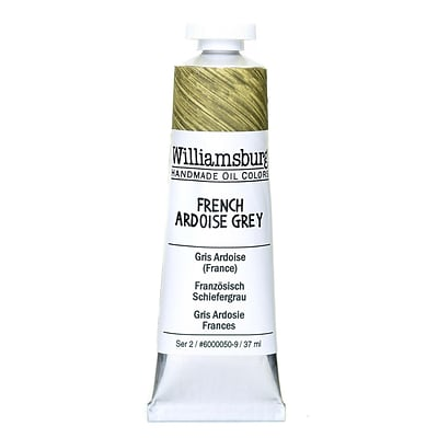 Williamsburg Handmade Oil Colors French Ardoise Grey 37 Ml