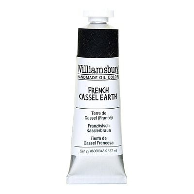 Williamsburg Handmade Oil Colors French Cassel Earth 37 Ml