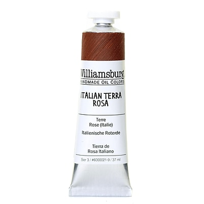 Williamsburg Handmade Oil Colors Italian Terra Rosa 37 Ml
