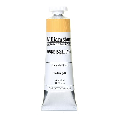 Williamsburg Handmade Oil Colors Jaune Brilliant 37 Ml