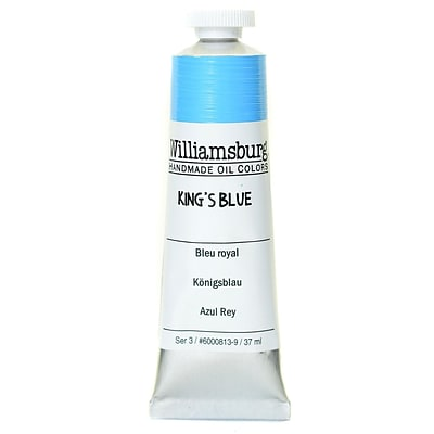 Williamsburg Handmade Oil Colors Kings Blue 37 Ml