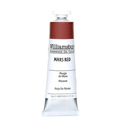 Williamsburg Handmade Oil Colors Mars Red 37 Ml
