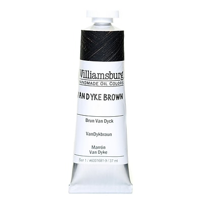Williamsburg Handmade Oil Colors Van Dyke Brown 37 Ml